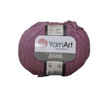 YarnArt Jeans 65 пыльная роза