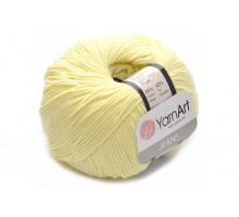 YarnArt Jeans 67 бледно-желтый