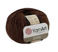 YarnArt Jeans 70 коричневый