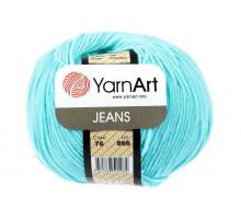 YarnArt Jeans 76 нежно-бирюзовый