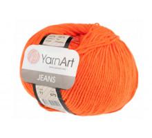 YarnArt Jeans 77 апельсин