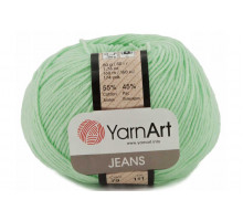 YarnArt Jeans 79 нежно-мятный