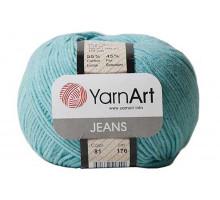 YarnArt Jeans 81 мята