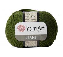 YarnArt Jeans 82 хаки