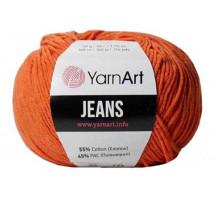 YarnArt Jeans 85 терракот