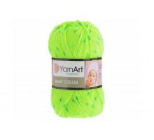 YarnArt Baby Color 274 салатовый/зеленый