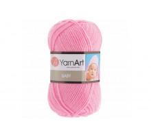 YarnArt Baby 10119 розовый