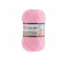 YarnArt Baby 217 нежно-розовый