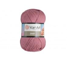YarnArt Baby 3017 пыльная роза