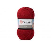 YarnArt Baby 3024 вишня