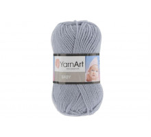 YarnArt Baby 3072 серо-голубой