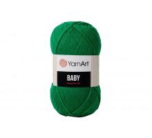 YarnArt Baby 338 ярко-зеленый