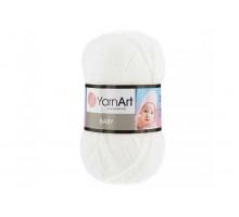 YarnArt Baby 501 белый