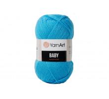 YarnArt Baby 552 голубая бирюза