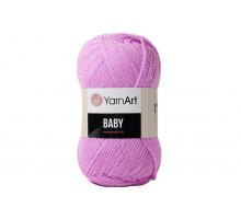 YarnArt Baby 635 розово-сиреневый