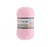 YarnArt Baby 649 бледно-розовый