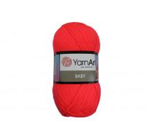 YarnArt Baby 8040 ярко-коралловый