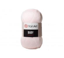 YarnArt Baby 853 светло-розовый