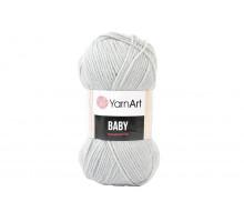 YarnArt Baby 855 светло-серый