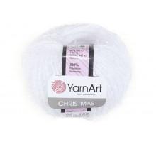 YarnArt Christmas 002 белый