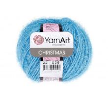 YarnArt Christmas 003 голубой