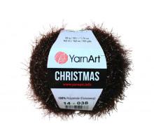 YarnArt Christmas 014 горький шоколад