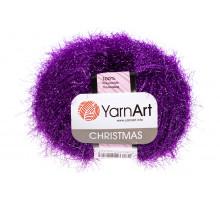 YarnArt Christmas 041 темно-фиолетовый
