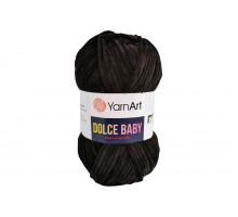 YarnArt Dolce Baby 742 черный