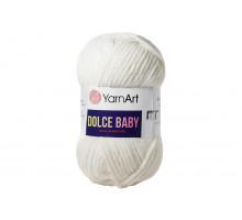 YarnArt Dolce Baby 745 молочный