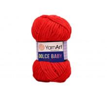 YarnArt Dolce Baby 748 красный