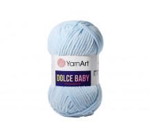 YarnArt Dolce Baby 749 голубой