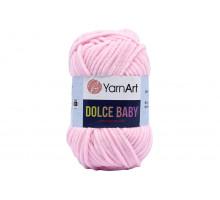 YarnArt Dolce Baby 750 нежно-розовый