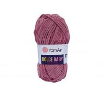 YarnArt Dolce Baby 751 брусничный