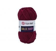 YarnArt Dolce Baby 752 вишневый