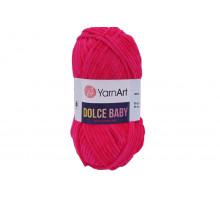 YarnArt Dolce Baby 759 ярко-розовый