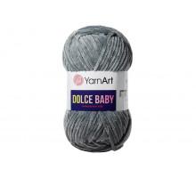 YarnArt Dolce Baby 760 темно-серый