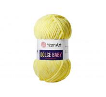 YarnArt Dolce Baby 761 желтый