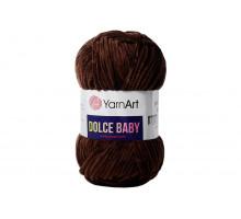 YarnArt Dolce Baby 775 темно-коричневый