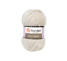 YarnArt Dolce Maxi 745 молочный
