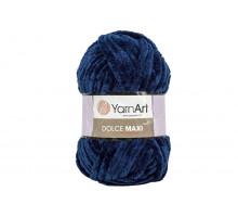 YarnArt Dolce Maxi 756 темно-синий
