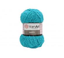 YarnArt Happy 785 голубая бирюза