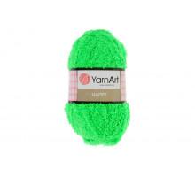 YarnArt Happy 786 ярко-зеленый