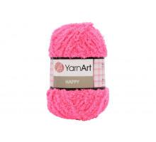 YarnArt Happy 789 розовый неон