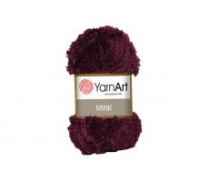 YarnArt Mink 339 бордо