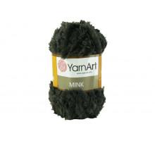 YarnArt Mink 343 серо-зеленый