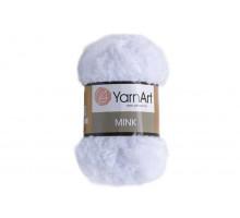 YarnArt Mink 345 белый