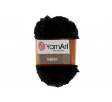 YarnArt Mink 346 черный