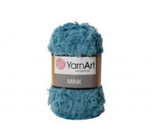 YarnArt Mink 349 голубая бирюза