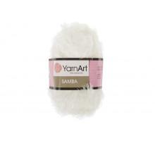 YarnArt Samba 001 белый