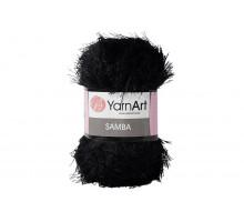 YarnArt Samba 002 черный